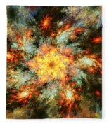 Floral Fantasy 072010 Fleece Blanket