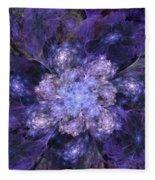 Floral Fantasy 1 Fleece Blanket