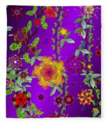Floral Fantasy 122410 Fleece Blanket