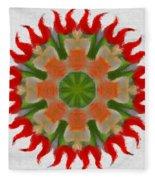 Floral Flare Fleece Blanket