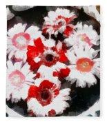 Floral Hotty Totty Fleece Blanket