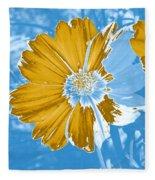 Floral Impression Fleece Blanket
