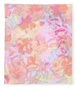 Floral Menagerie Fleece Blanket