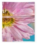 Floral 'n' Water Art 6 Fleece Blanket
