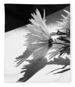 Floral No2 Fleece Blanket