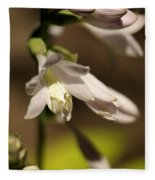 Floral Sideview Fleece Blanket