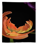 Floral Spring Tulips 2017 Abstract 01 Fleece Blanket