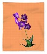 Floral Fleece Blanket