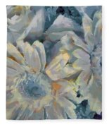 Floral Vegged Out Wow Fleece Blanket