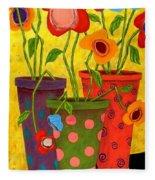 Floralicious Fleece Blanket
