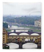 Florence 3 Fleece Blanket