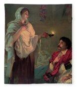 Florence Nightingale Fleece Blanket