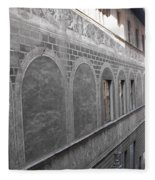Florentine Stone Graffiti 2 Fleece Blanket