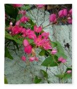 Flores Fleece Blanket