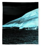 Fluorescent Rock Fleece Blanket