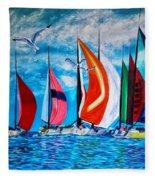 Florida Bay Fleece Blanket