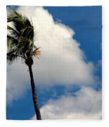 Florida Clouds Fleece Blanket