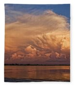 Florida Cloudscape Fleece Blanket