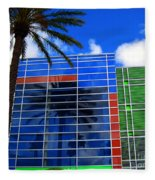Florida Colors Fleece Blanket