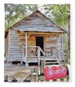 Florida Cracker Church And School House Fleece Blanket