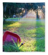Florida Home Fleece Blanket