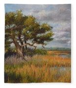 Florida Intercoastal Fleece Blanket