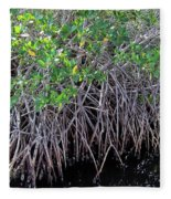 Florida - Mangroves Fleece Blanket