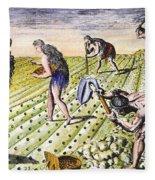Florida Natives, 1591 Fleece Blanket