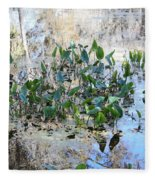 Florida Pond Fleece Blanket