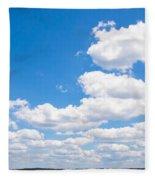 Florida Sky - Tallahassee, Florida Fleece Blanket