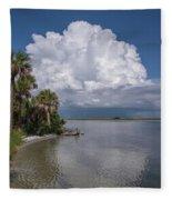Florida Mountains Fleece Blanket