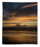 Atlantic Sunrise Fleece Blanket