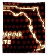 Florida - The Sunshine State Fleece Blanket