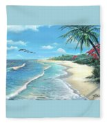 Florida Treasure Fleece Blanket