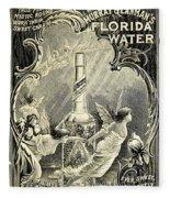 Florida Water Fleece Blanket