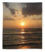 Florida's West Coast - Clearwater Beach Fleece Blanket