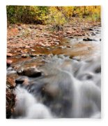 Flow In Sedona Fleece Blanket