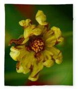 Flower 3 Fleece Blanket