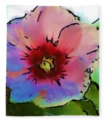 Flower 8-15-09 Fleece Blanket