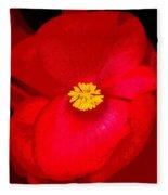 Flower 8 Enhanced Fleece Blanket