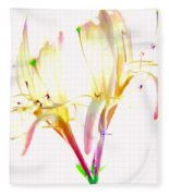 Flower 9315 Fleece Blanket