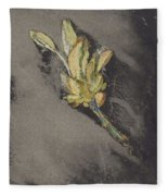 Flower, Carel Adolph Lion Cachet, 1874 - 1945 Fleece Blanket