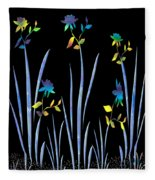 Flower Dance Fleece Blanket