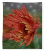 Flower Dreams Fleece Blanket
