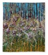 Flower Energy Fleece Blanket