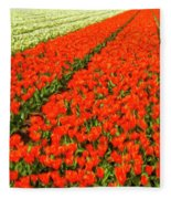Flower Farm 2 Fleece Blanket