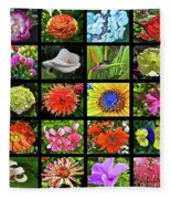 Flower Favorites Fleece Blanket