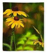 Flower Friends Fleece Blanket