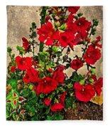 Flower Garden 11 Fleece Blanket