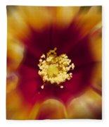 Flower Graphic Fleece Blanket